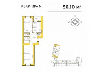 АКЦИЯ! Первый взнос на 2к квартиру: 13 000 $